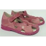 сандали Тотто (кожа) фуксия-розовый 1091