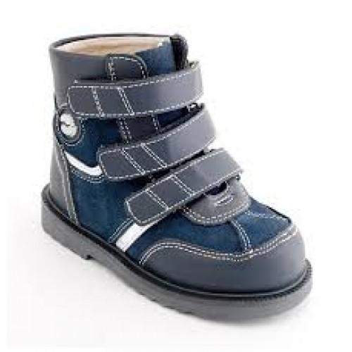 f2a921b6a Детская ортопедическая обувь ботинки демисезонные Сурсил Орто  (Sursil-Ortho) 12-002