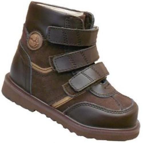 31a29868f Детская ортопедическая обувь ботинки демисезонные Сурсил Орто  (Sursil-Ortho) 12-022