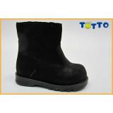 Полусапожки Тотто (кожа) черный 137