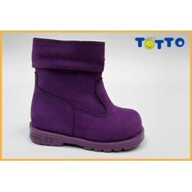 Полусапожки Тотто (кожа) фиолетовый 139