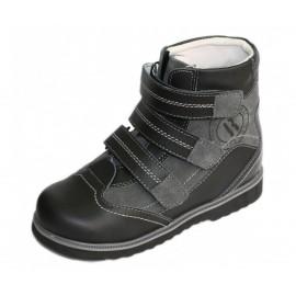 Детская ортопедическая обувь ботинки демисезонные Сурсил Орто (Sursil-Ortho) 23-208-1