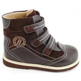 Детская ортопедическая обувь ботинки демисезонные Сурсил Орто (Sursil-Ortho) 23-208