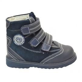 Детская ортопедическая обувь ботинки демисезонные Сурсил Орто (Sursil-Ortho) 23-212