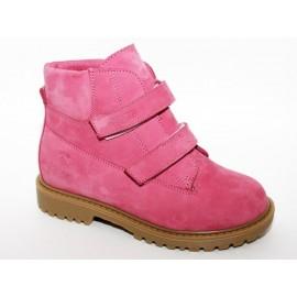 Ботинки Тотто (кожа) пион 1126 на байке