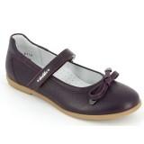 Туфли Тотто (кожа) 30001/2-КП-720 баклажан