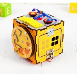 Бизи-кубик 12*12*12 см