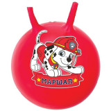 Мяч попрыгун МАРШАЛ массажный/гладкий, с рожками/ручкой d=45см, цвет МИКС
