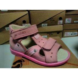 Детская профилактическая обувь сандалии Минимен (Minimen) PNS00185 розовые