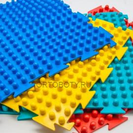 """Массажный коврик от плоскостопия набор """"Шипы"""" из 8 модулей"""
