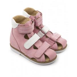 Детские ортопедические сандалии Тапибу (Tapiboo) 26012 ФИАЛКА (розовый) выкладка свода