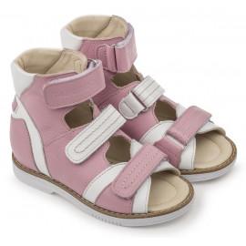 Детские ортопедические сандалии Тапибу (Tapiboo) 26016 ФИАЛКА (розовый) выкладка свода